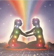 Man-Woman connecting at all energy centers